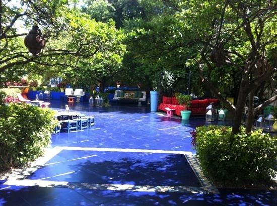 Shore Club South Beach Hotel: Rooftop bar