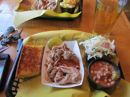 Moe's Original Bar B Que: Pulled Pork Plate