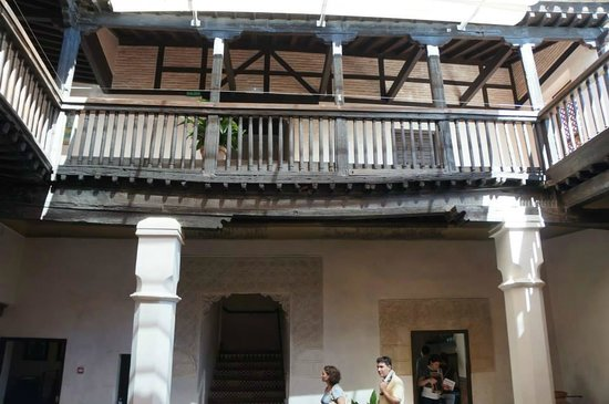 Museo del Greco : The courtyard.