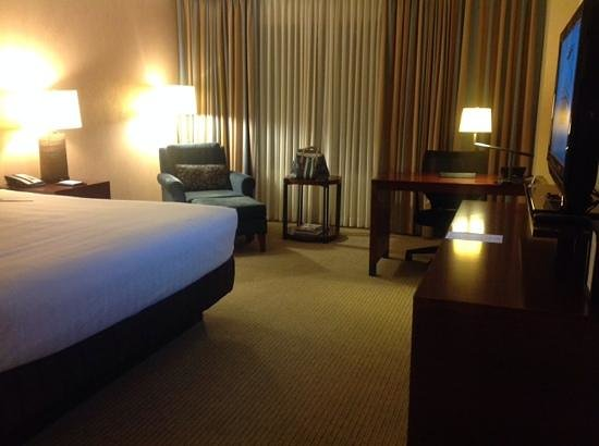 Hyatt Regency Calgary: king room