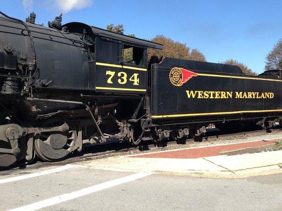 Western Maryland Scenic Railroad: The train