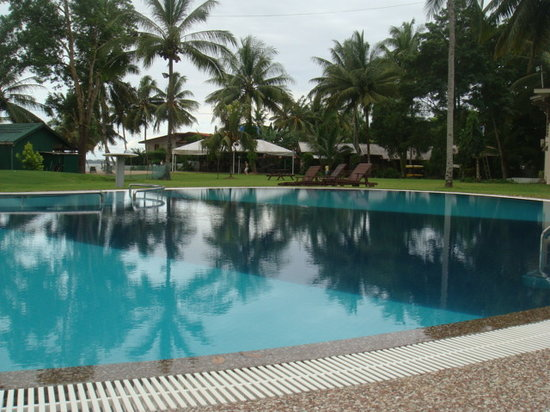 Langkah Syabas Beach Resort: New  Swimming Pool