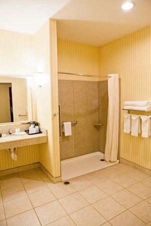Comfort Suites: Walk In Shower