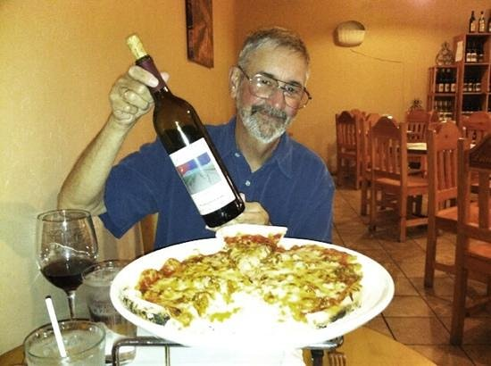 Luna Rossa Winery & Pizzeria: Great Sangiovese!