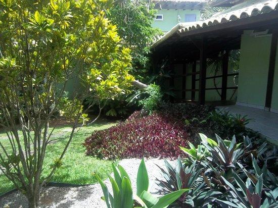Pousada Aguas Claras Buzios: Todas las habitaciones están rodeadas de mucho verde