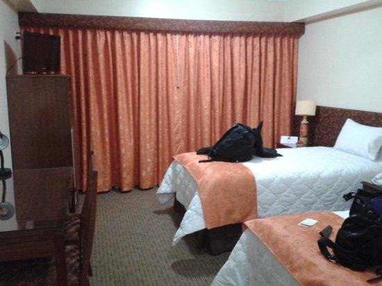 Faraona Grand Hotel: chambre twin