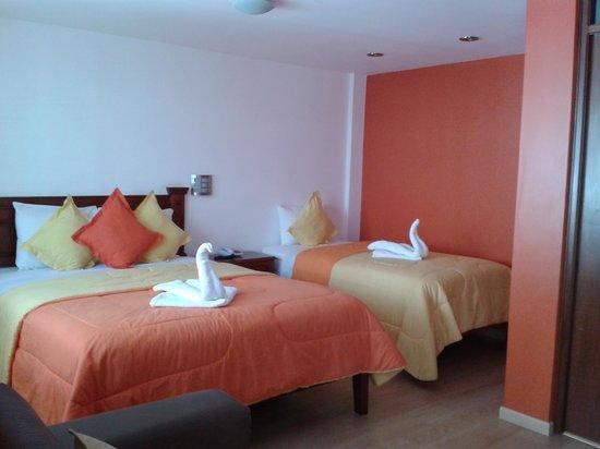 Casona Terrace Hotel: chambre twin