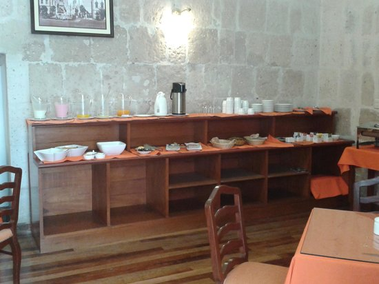 Casona Terrace Hotel: buffet petit dejeuner