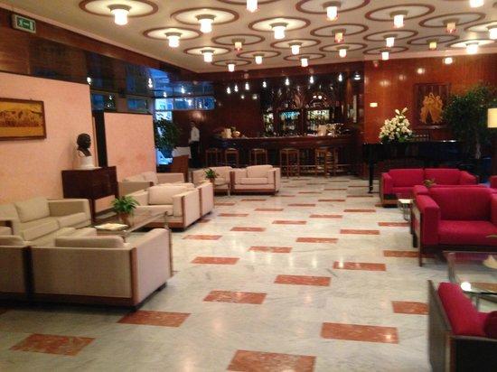 Hotel Continental : Bar/Lounge area
