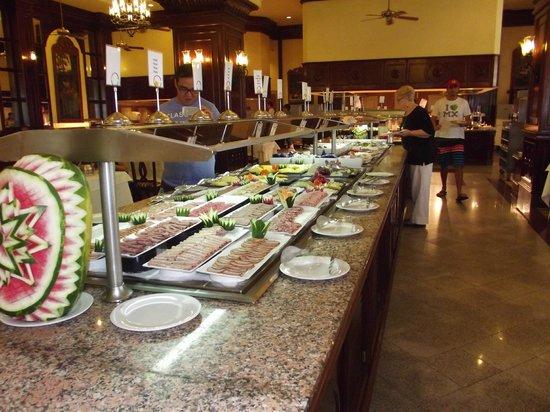 Hotel Riu Palace Cabo San Lucas: DINNER