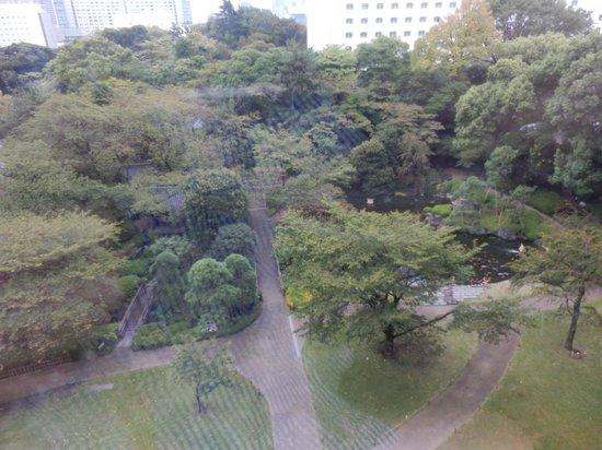 Grand Prince Hotel Takanawa : 庭がきれいです。