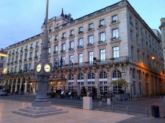 InterContinental Bordeaux Le Grand Hotel: Outside of hotel