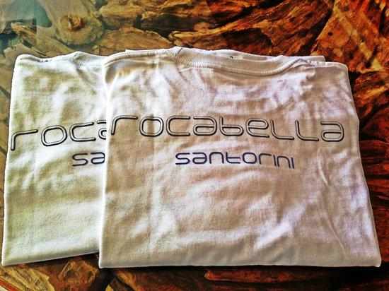 Rocabella Santorini Resort & Spa: Cute Rocabella Santorini t-shirts
