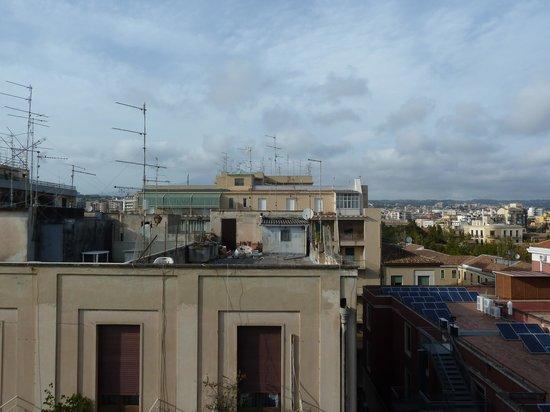 Best Western Hotel Mediterraneo : View from balcony