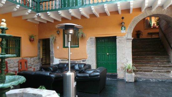 La Casona Real Hotel : Patio central