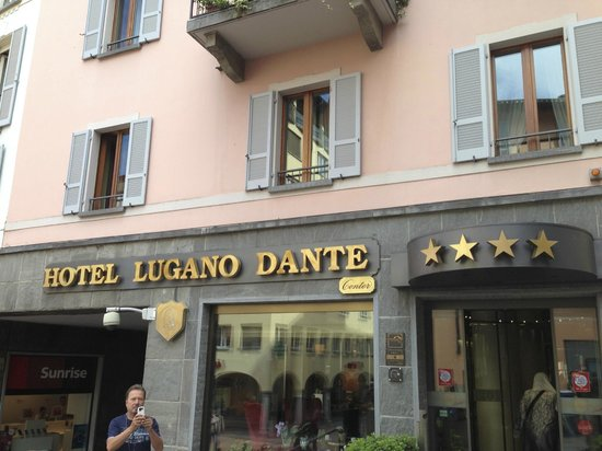 Lugano Dante Center Swiss Quality Hotel : Hotel front