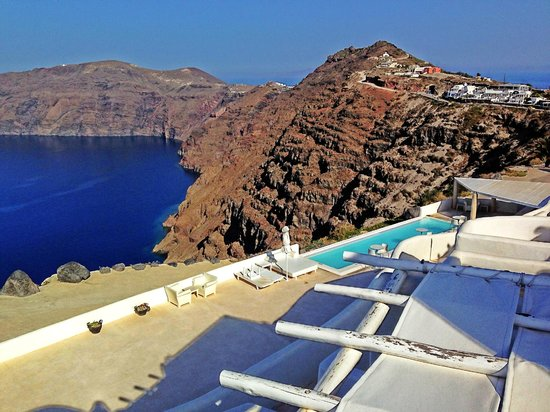 Rocabella Santorini Hotel & Spa: Stunning view from our room