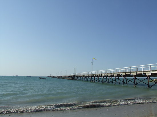 Beachport Motor Inn : Beachport 2nd longest Jetty