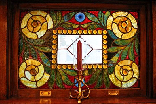 Rocking Horse Manor Bed and Breakfast: Stained Glass