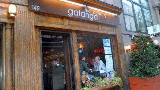 Galanga : Front entrance