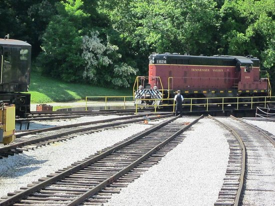 East TN Railroad Turntable - Picture of Chattanooga