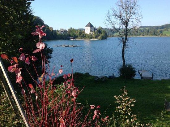 Schloss Fuschl Resort & Spa, Fuschlsee-Salzburg: Schloss from lake walk.