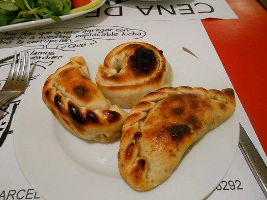 El Laurel : Empanada variety