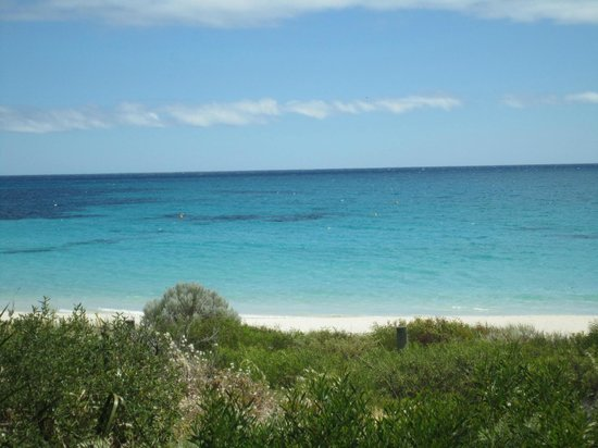 Bunkers Beach House: View From Bunkers Beach Cafe