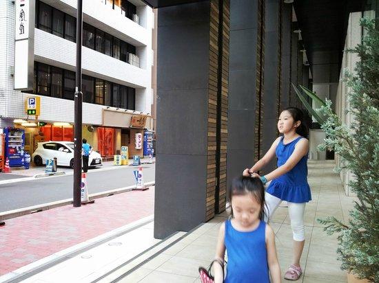 Solaria nishitetsu hotel Ginza : 飯店樓下即是一風堂銀座店