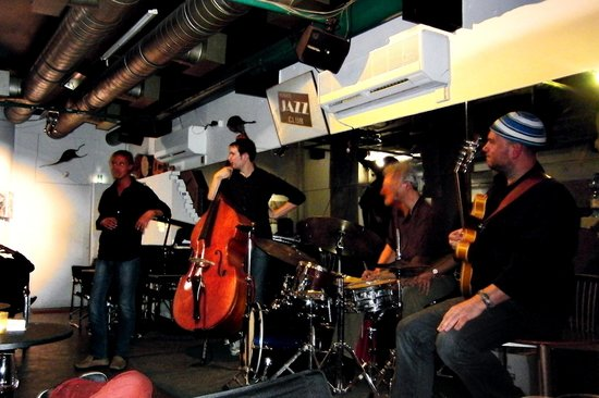Venice Jazz Club: great seats
