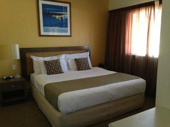 Mantra Geraldton: Bedroom, 1 bed apartment