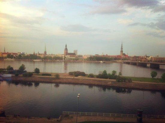 Radisson Blu Daugava Hotel, Riga: Хоть картину маслом пиши