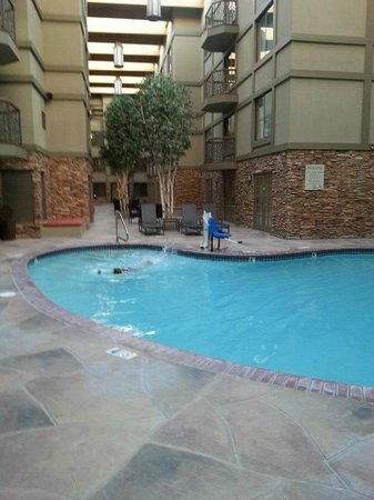 Park City Marriott: Pool and Atrium