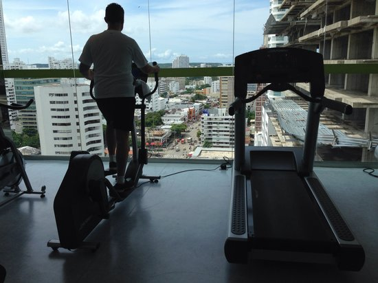Hampton by Hilton Cartagena: Gym
