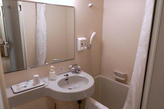 Comfort Hotel Hakodate : バスルーム