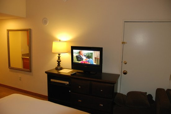 Polo Towers Suites: room with TV