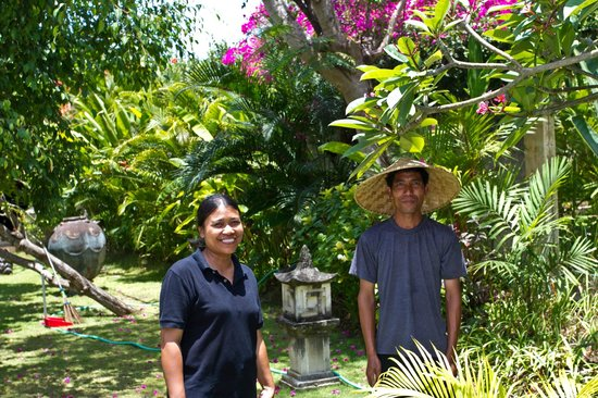 Villa Dermawan: Lovely staff!