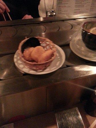 Sushi Bar: Nuggets congelés de grande distribution! !! Scandale pour un restaurant qui dans le temps etait