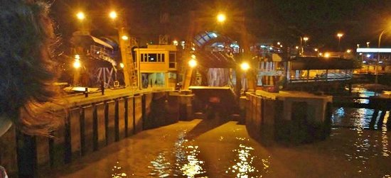 Penang Ferry Service: Approaching the mainland