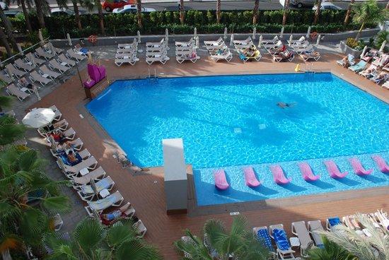 Hotel Riu Don Miguel: Zicht vanuit de kamer