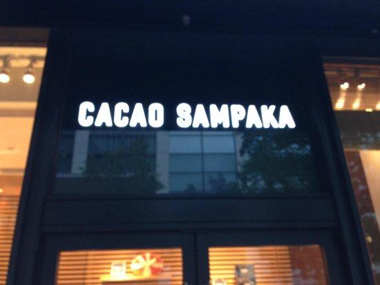 CACAO SAMPAKA: Sign