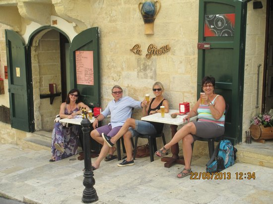 La Giara: Family outing in Valletta