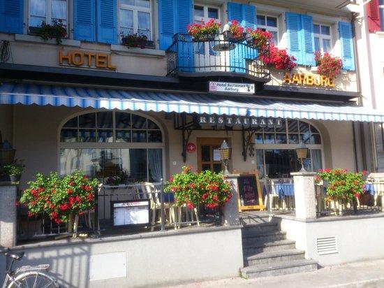 Restaurant Aarburg: Interlaken - Aarburg beim Fluss