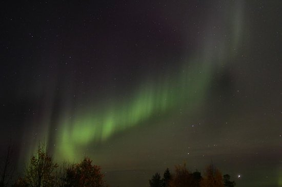 Lapland Vuollerim Welcomes You: Northern Light in Swedish Lapland