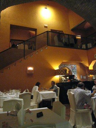 San Marco : la 2ème salle + l'étage (plus moderne)