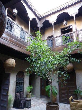 Riad Khol : la cour intérieure