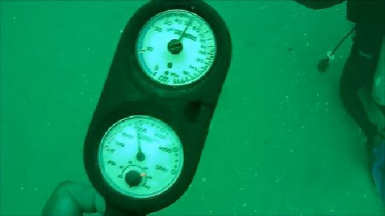 Express Watersports: 50 feet deep