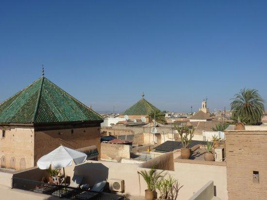 Riad Khol : vue sur les toits