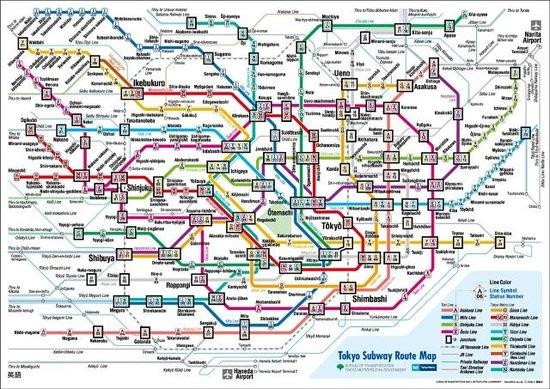 Tokyo Metro Map Picture of J residence Shinjuku Shinjuku