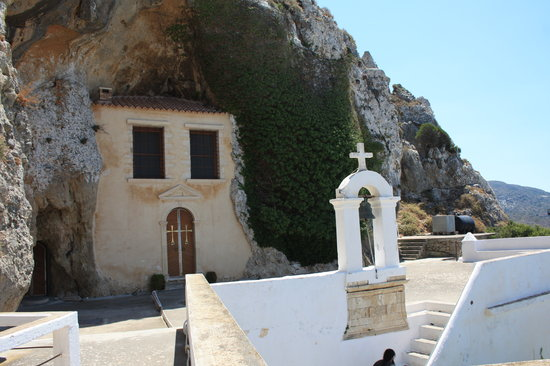 Agios Nikolaos, Griechenland: Entrance To The Chapel